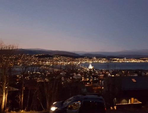 Finnsnes og så Tromsø, med oppdrift